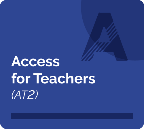 Access for Teachers (AT2) aftat2